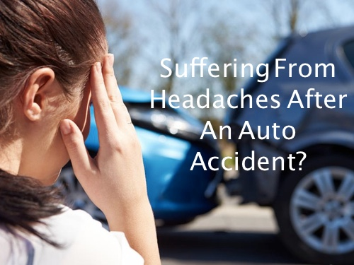 headache after auto accident charleston sc